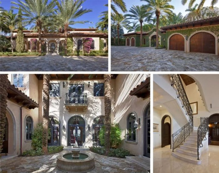 Top 10 most expensive celebrity homes for Biggest house in miami