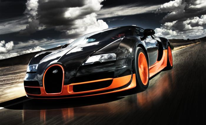 Bugatti Veyron Super Sports hd wallpaper Bugatti Veyron Super Sports HD Wallpaper