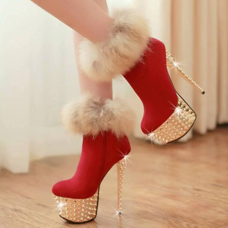 Chalany High Heels Christmas Footwear's for Women by Shoes Post 3 Chalany High Heels Christmas Footwear's for Women by Shoes Post