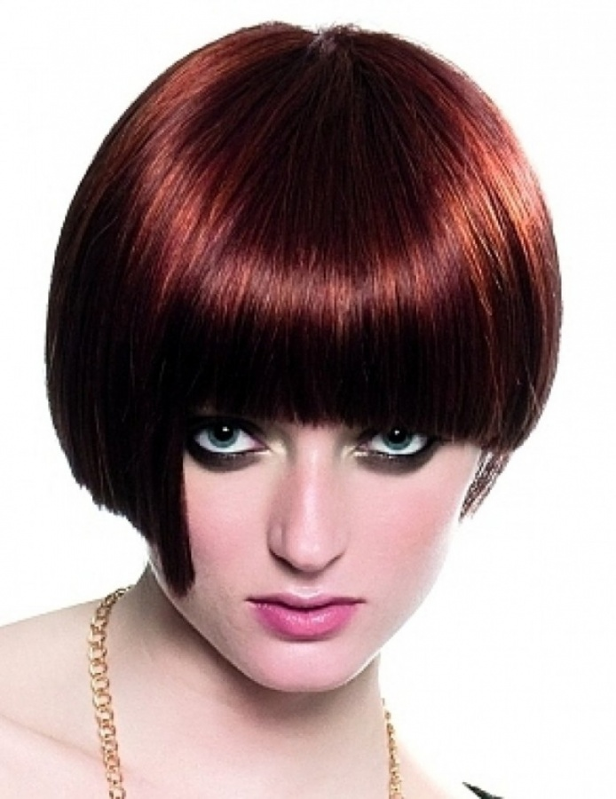 Dark Mahogany Chestnut Hair Color