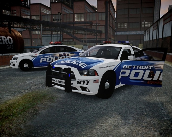 Detroit-Police-Car