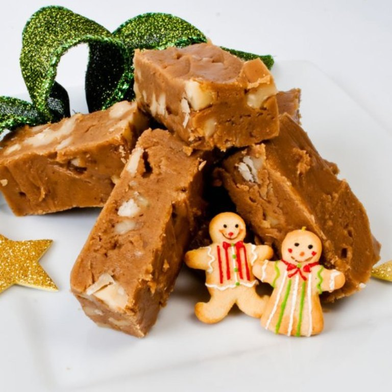 Fudge-with-snowmen
