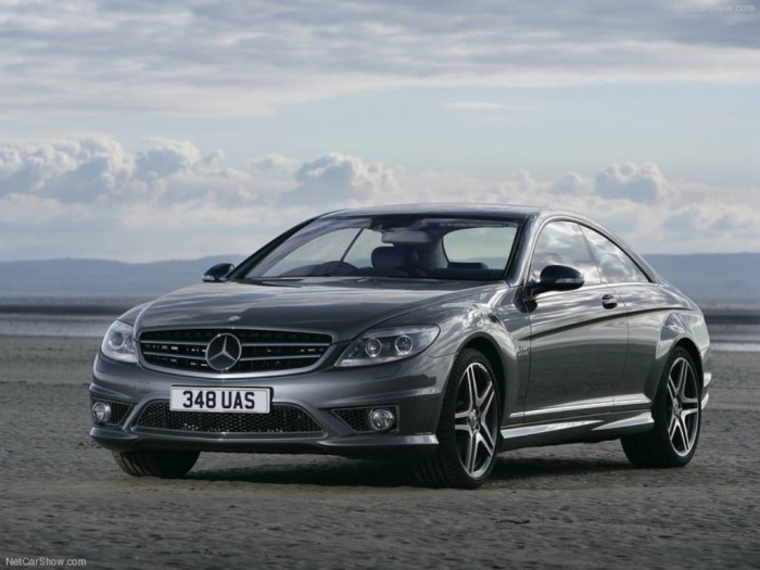 Mercedes CL65 AMG UK Version - Front Angle, 2008, 800x600, 1 of 81