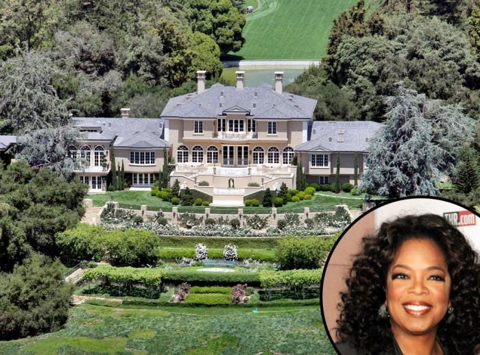 Oprah Winfrey, Montecito, California.