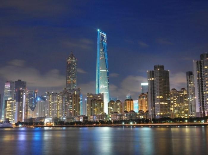 Shanghai-World-Financial-Center,-Shanghai,-China