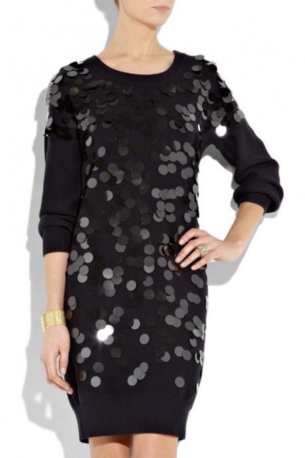 Sonia-by-Sonia-Rykiel-Paillette-embellished-sweater-dress-2