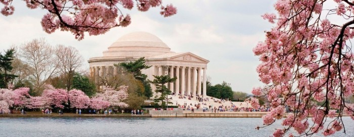 Washington, District of Columbia spring_jefferson_homepage_only