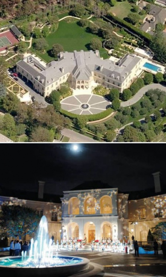 Top 10 most expensive celebrity homes How to spell luxurious