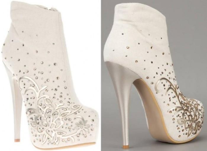 احدث احذية الزفاف 2014_ladys fashion_صنادل الزفاف (1)