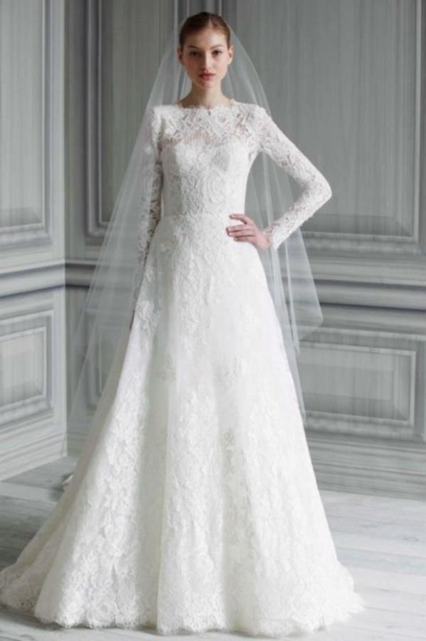 Unique Muslim Bridal Gowns Embellishment - Wedding Dress Ideas ...