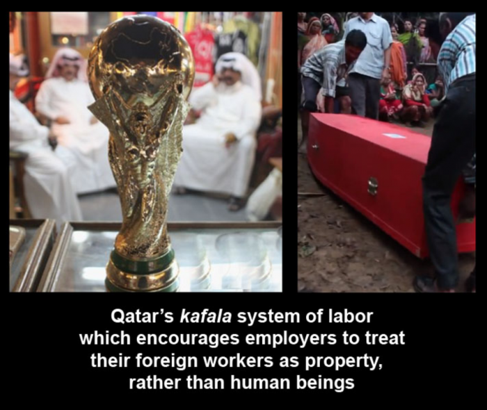 Photo of Top 10 Photos of Enslaved Workers in Qatar for the Sake of the World Cup