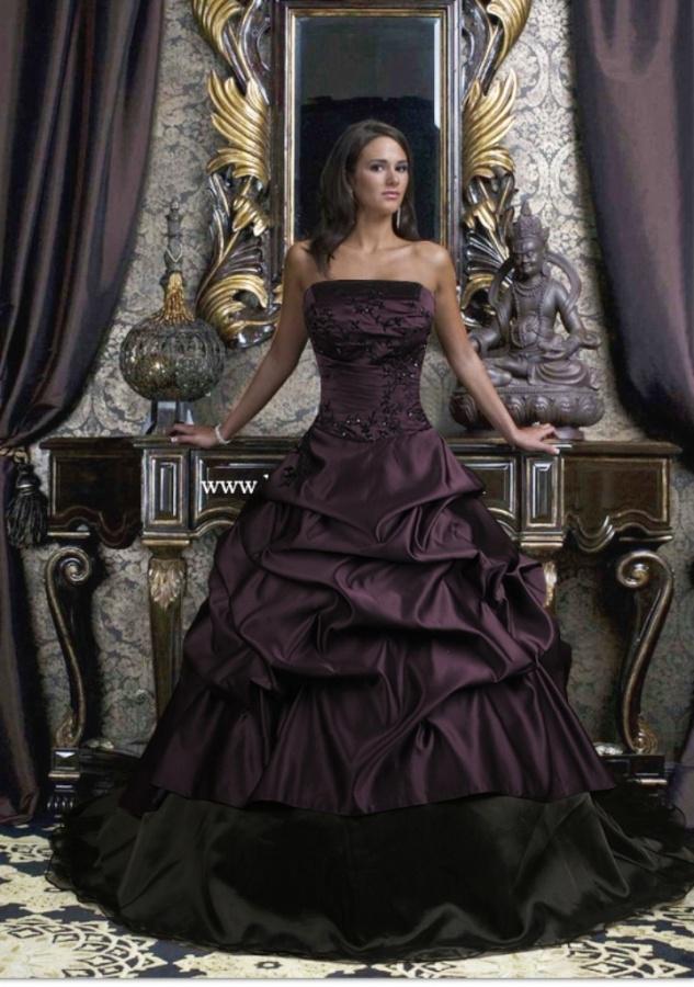 Awesome-Black-Wedding-Dress