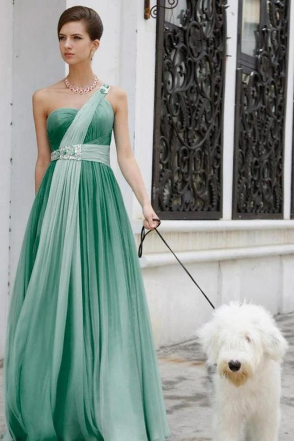 BB007-Shaded-green-silk-chiffon-toga-gown