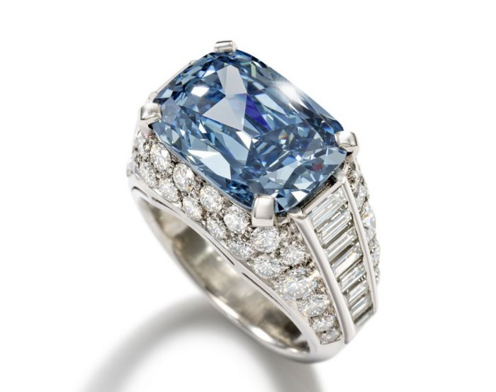 Blue-Diamond-Bonhams-Bulgari The most expensive $9.5 M