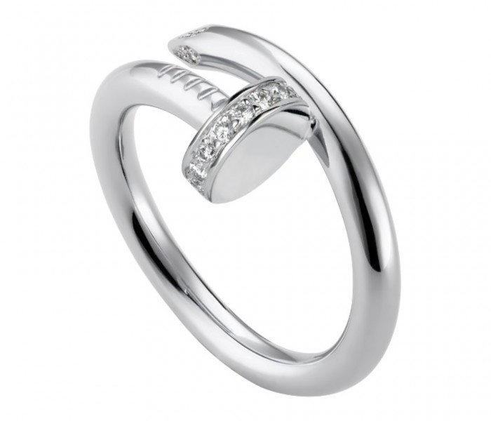Cartier Juste-un-Clou-ring-in-White-Gold-with-Diamonds