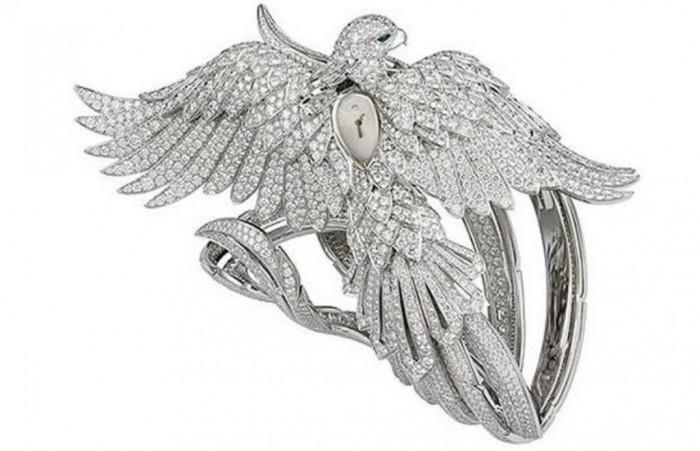 Cartier Secret Watch with Phoenix Décor