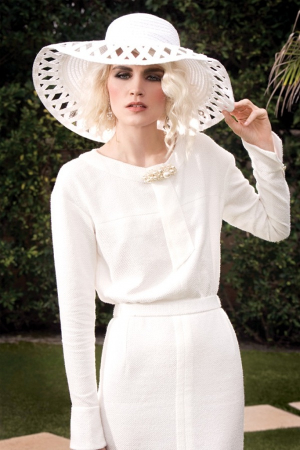 Chanel-cotton-tweed-dress