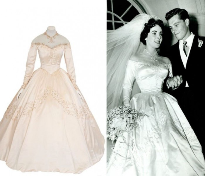 Elizabethtaylorweddingdress