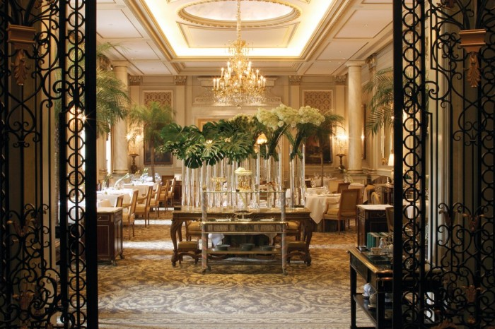 Four Seasons Hotel George V in Paris, France