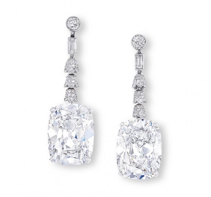 Golconda Diamond Earrings
