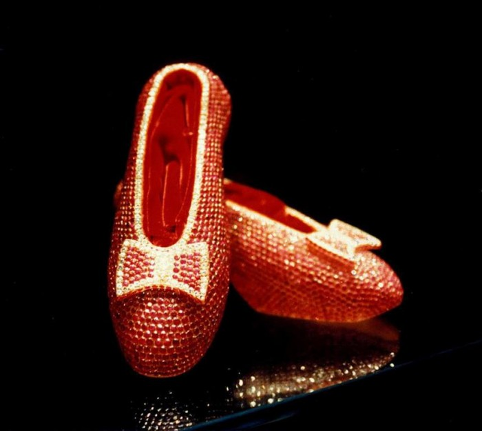 "House of Harry Winston's ""Ruby Slippers"