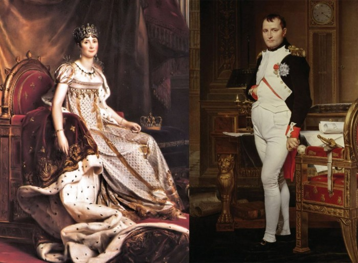 Josephine-de-Beauharnais-and-Napoleon-Bonaparte