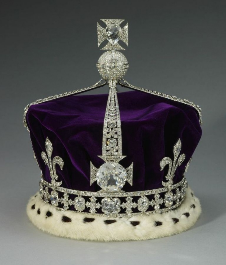 Koh-i-Noor Crown of Queen Elizabeth