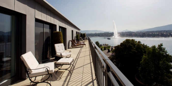 Le Richemond in Geneva, Switzerland Armleder Suite, Le Richemond, Geneva