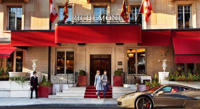 Le Richemond in Geneva, Switzerland