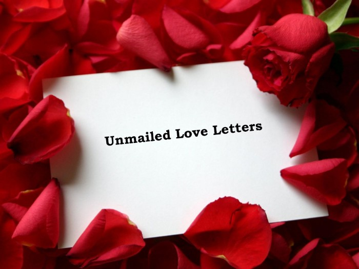 Love letters to the wind