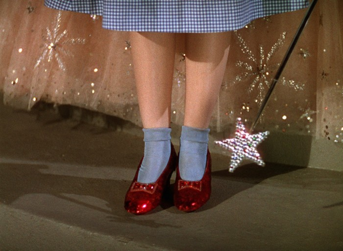 """Original Ruby Slippers from """"The Wizard of Oz"""""""