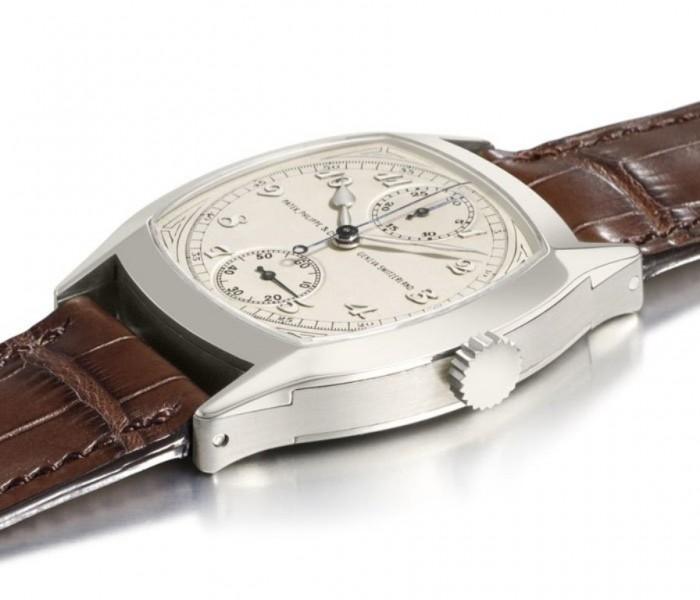 Patek Philippe 1928 Single-Button Chronograph Watch .