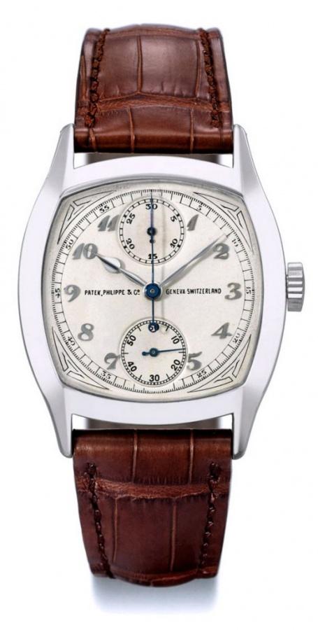 Patek Philippe 1928 Single-Button Chronograph Watch