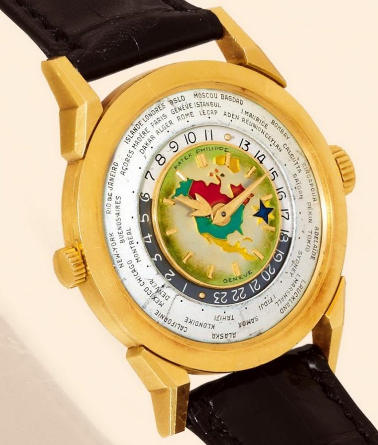 Patek Philippe 1953 Model 2523 Heures Universelles Watch
