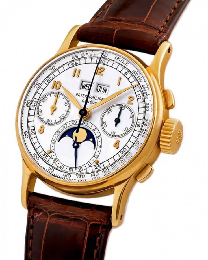 Patek Philippe Reference 1527 Wristwatch.