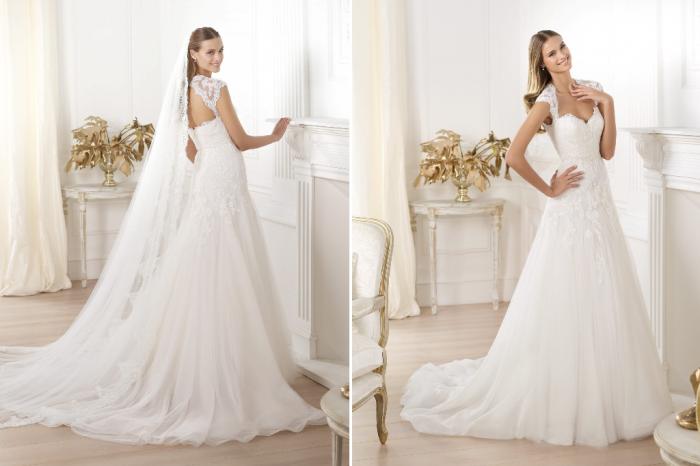 Pronovias-Wedding-Dress-Pre-2014-Fashion-Bridal-Lany