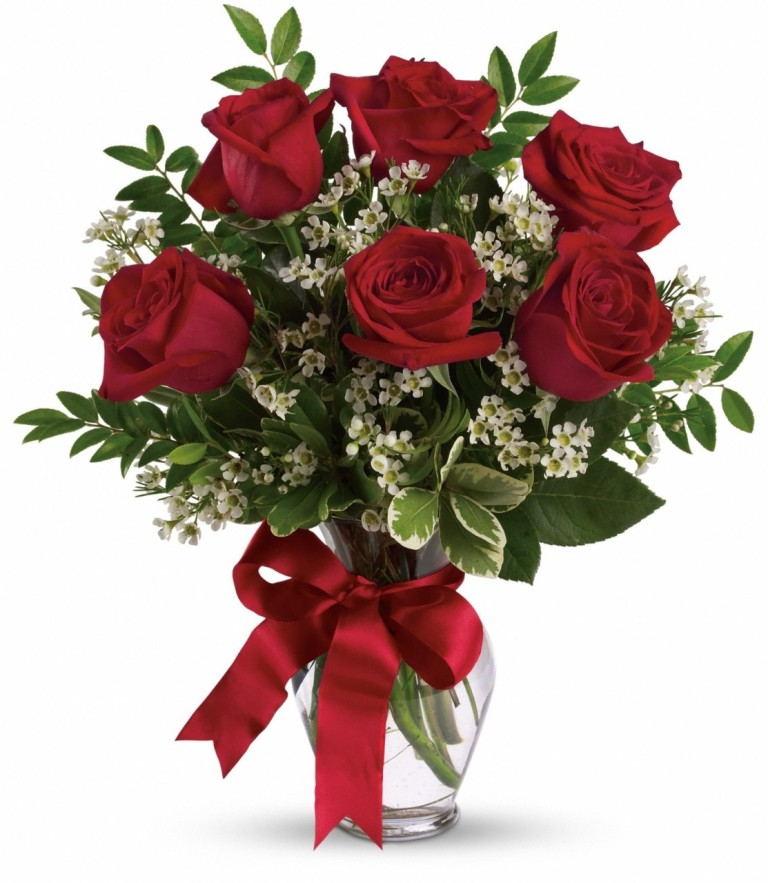 Red Rose Flower Bouquet Best Picture Wallpaper