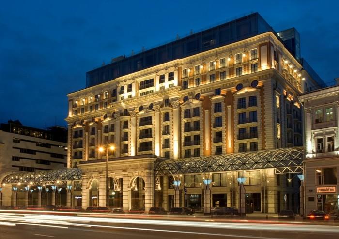 Ritz-Carlton Hotel in Moscow, Russia.