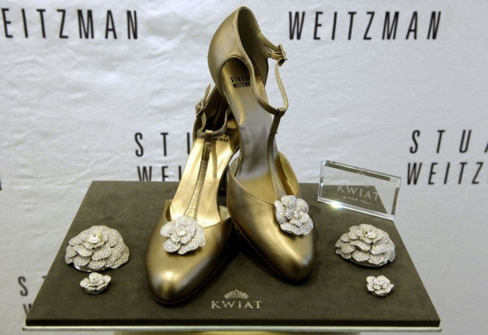 "Stuart Weitzman's ""Retro Rose"" Pumps"