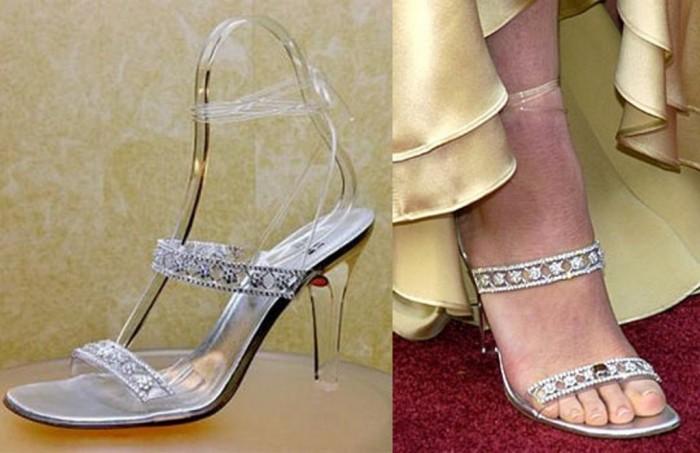 "Stuart Weitzman's ""Cinderella Slippers"