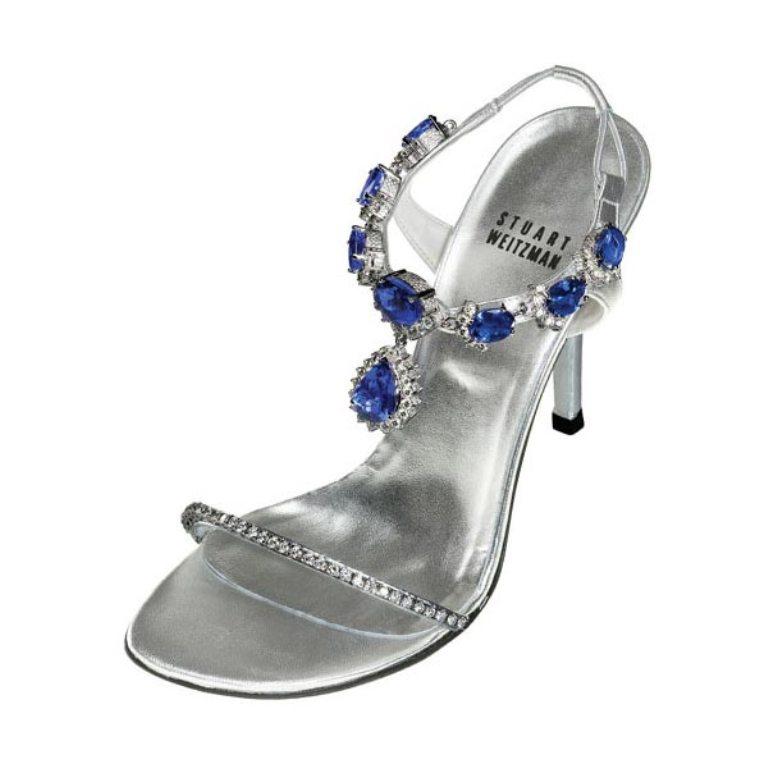 """Stuart Weitzman's """"Tanzanite Heels"""