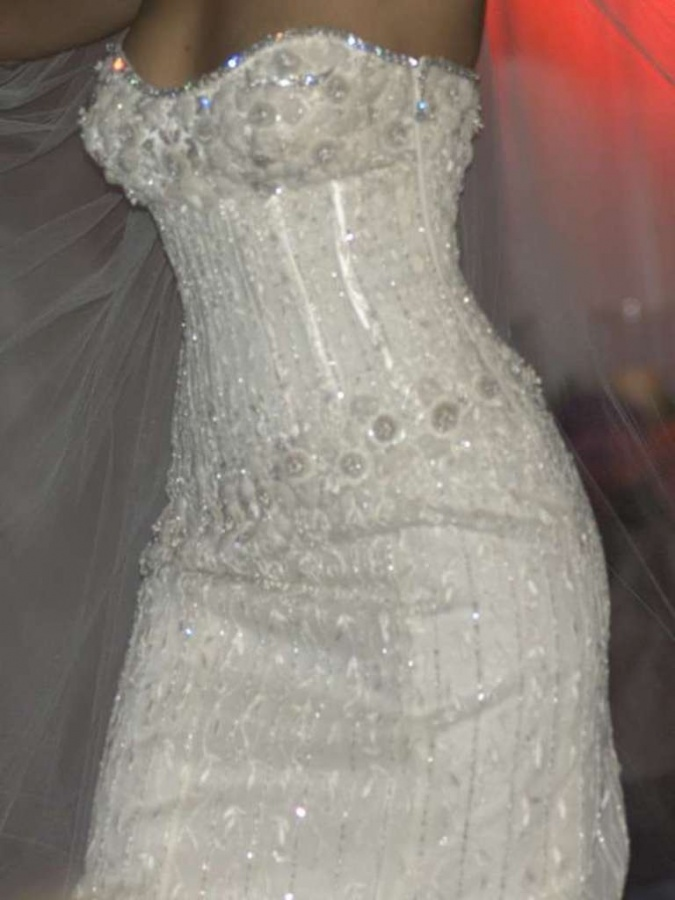 The Diamond Wedding Gown Most Expensive Dress