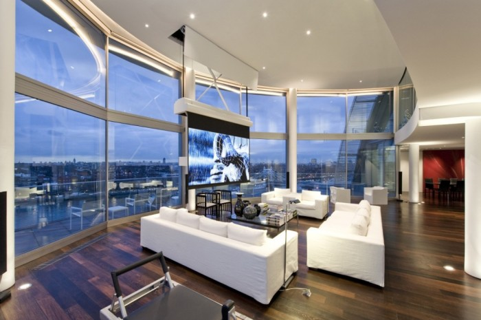 The Penthouse 2-Projector-screen