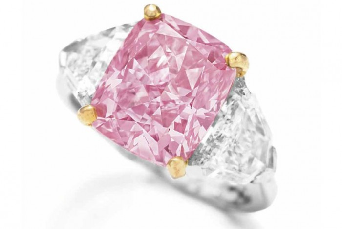 The Pink Graff Ring