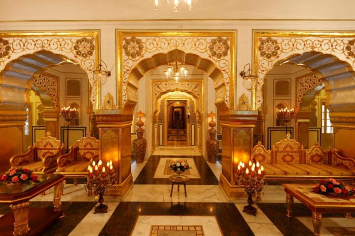 The Presidential Suite, The Raj Palace Hotel, Jaipur, India .
