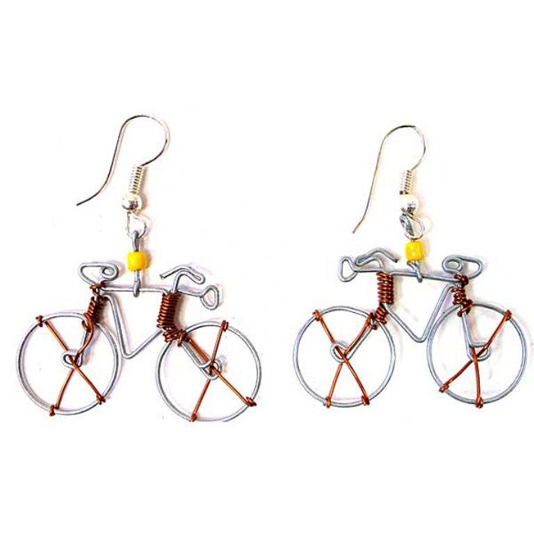 Tin-Wire-Bicycle-Earrings-Kenya-L12015647