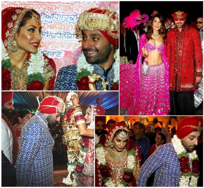 Vikram Chatwal & Priya Sachdeva