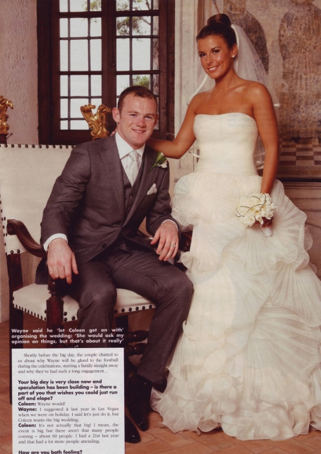 Wayne Rooney & Coleen McLaughlin