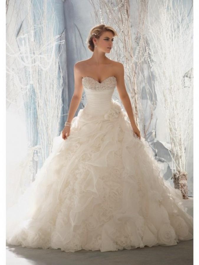 a-lineprincess_sweetheart_ruffles_organza_wedding_dress