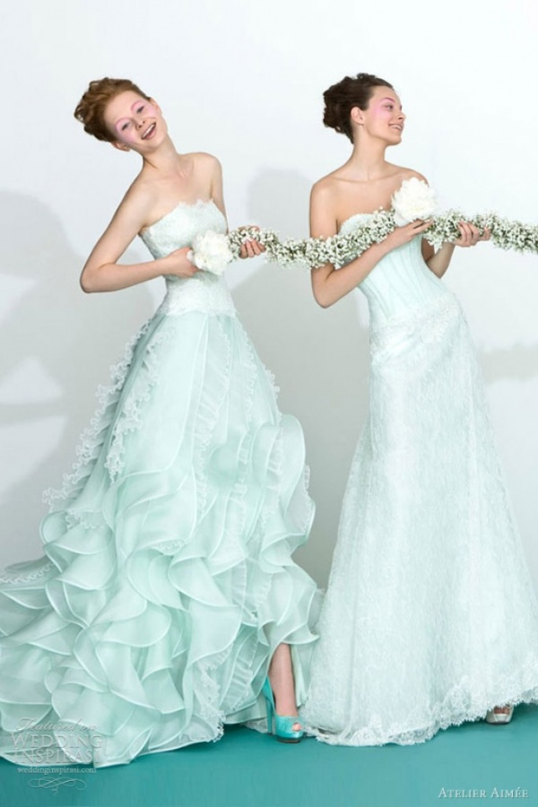 Photo of Top 10 Green Wedding Dresses